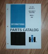 Cub Cadet 282 Tractor And Engine Part Lists W/ Diagrams