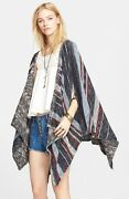 Nwt Free People And039the Big Trailand039 Poncho Cardigan Retail 168