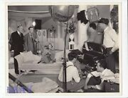 Barbara Stanwyck Director Alfred Santell Vintage Photo Breakfast For Two