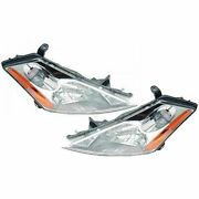Halogen Headlights Headlamps Left And Right Pair Set For 03-07 Nissan Murano