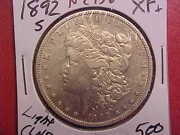 1892 S Morgan Dollar - Lightly Cleaned - Xf+ - See Pics - N2956