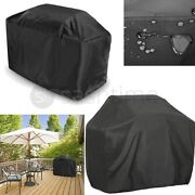 Waterproof Elastic Fitted Breathable Bbq Cover Barbeque Grill Protector W Zips