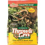 6 Pk 5 Throw And Gro No-till Forage Seed Plot Buck Deer Attractant 70505