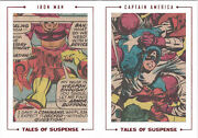Marvel Avengers Silver Age Cut Archive Card Ts99 Tales Of Suspense 42/48