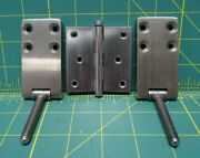 3 Piece Marine Hinge Lot, Butt Hinge And Two Stud Hinges