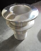 Stainless Steel Boat Thru Hull Fitting With 2 Hose End