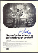 Bill Russell Autographed / Signed Bellsouth Ad
