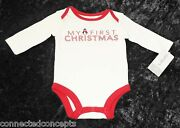 Christmas Carters My First Christmas Infant Bodysuit Sizes Newborn, 3 Months