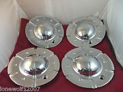Fierro Wheels Chrome Custom Wheel Center Caps X1834147-9sf / S302-29 4 Caps