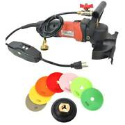 5 Concrete Counter Top Cement Floor Polisher Grinder And Diamond Pad Set Ccpolset