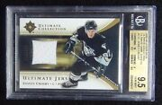 2005-06 Sidney Crosby Ultimate Jersey 97/250 Bgs 9.5 From The Rc Year Pop 3