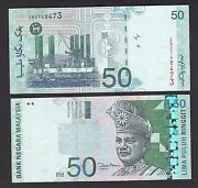Malaysia 50 Ringgit 20002012 P43d Replacement Zb - Unc Hm