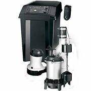 Flotec Fpcc5030 - 1/2 Hp Combination Primary And Backup Sump Pump System W/ Rem...