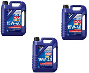 X15 Liter Kit Liqui Moly Touring High Tech 15w40 Motor Oil For Gas Diesel Engine