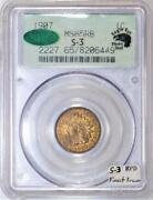 1907 Indian Head Cent Pcgs And Cac Ms-65 Rb Photo Seal S-3 Rpd Finest Known