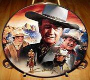 John Wayne Hero For A Century, Master Of The West, 5th Issue Bradford Plate