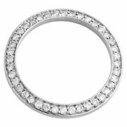 Custom Diamond Bezel To Fit Rolex Datejust 26mm Watches Only Round Cut 1 Ct.