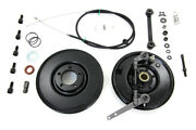 Backing Plate, Brake Drum, Anchor Arm And Cable Kit Fits Harley-davidson
