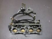 Used Throttle Body Assembly W/ Clutch Lever And Brackets For Honda Cbr929