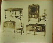 Art Deco Furniture 1930s Advertising 10x12 Photograph And039monroeand039 - Bloomsburg Pa