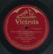 78tk-12 Inch-classical-victrola 89088-louise Homer/ Enrico Caruso/marcel Journet