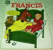 Francis The Talking Mule Four-color 621 Fn- 5.5 1955 40 Off Guide