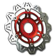 Ebc Front Red Vee Rotor Brake Disc For Yamaha 2016 Fjr1300 Ae