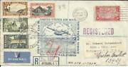 Us Scc22 Round The World Trans-pacific Clipper San Francisco To New
