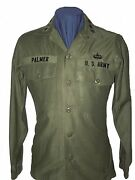 General Bruce Palmer Cos Us Army Vietnam Fatigue Uniform Shirt, Trousers, Photo
