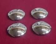 Giovanna Wheels Chrome Custom Wheel Center Caps Set Of 4 509k67 New
