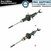Kyb Excel-g 341377 341378 Front Suspension Shock Strut Lh Rh Pair 2pc For G35
