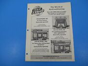 Original 1950's Year-a-round Tractor Cab Enclosure Ad Deere Oliver Ford M1413