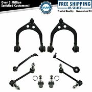 Front Control Arm Ball Joint Sway Bar Link Suspension Steering Kit Set 8pc New