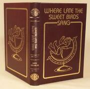 Where Late The Sweet Birds Sang Kate Wilhelm Collectorand039s Edition W/ Notes
