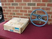 71-81 Chevrolet Camaro 71-72 Chevelle Monte Nos Gm Blue 4 Spoke Steering Wheel