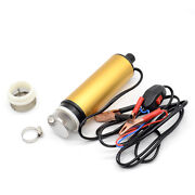 Submersible Diesel Fuel Transfer Water Oil Pump Dc12v Button Filter Car Portable