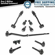 11 Piece Steering And Suspension Kit Ball Joints Tie Rods Sway Bar End Links New