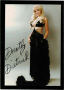 Houdini Autograph Trading Card Signed By Dorthy Dietrich