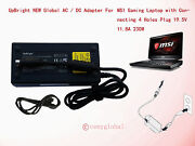 230w Ac Adapter For Msi Gt83vr Gt73vr Pro Titan 18.4 Gaming Laptop Power Supply