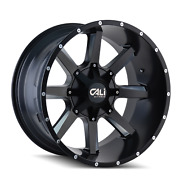20 Cali Offroad Busted Black Wheels Mt Tires 6x5.5 6x135 Chevy Gmc Ford