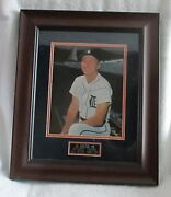 Al Kaline Signed/framed Kaline Day Stadium Hand-out Photo-sold At Charity Wow