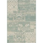 Couristan Afuera Country Cottage Sea Mist And Ivory Indoor/outdoor Rug
