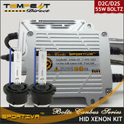 D2s D2r Hid Xenon 55w Boltz Ac Replacement Kit W Canbus Error Decoder - Sportiva
