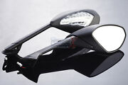 Ducati 899 Panigale And 1199 Panigale Turn Signals Mirrors Black Set 14 13 12