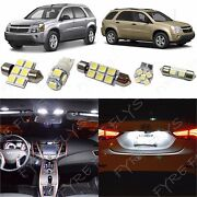 7x White Led Interior Lights Package Kit 2005-2009 Chevy Equinox/saturn Vue Ce2w