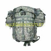 Us Military Acu Molle Large Rucksack Field Pack Frame 6 Piece Complete Set Nice