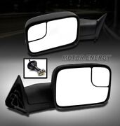 For 94-97 Ram 1500 2500 3500 Towing Adjustable Extend Power Side Mirror
