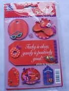 Red Hat Society Tag Grand Adhesions / 3d / K And Co. / Discontinued