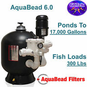 Gc Tek Aquabead 6.0 Bead Filter Ab6.0 For Ponds To 17000 Gallons 300 Fish Load