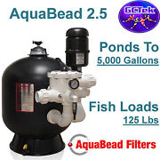 Gc Tek Aquabead 2.5 Bead Filter Ab2.5 For Ponds To 5,000 Gallons 125 Fish Loads
